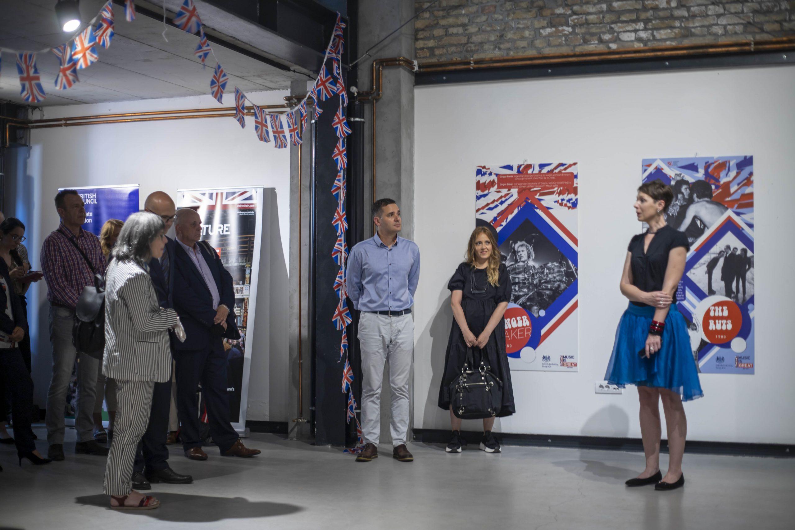 изложба британске амбасаде
